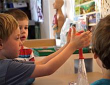 Aktivitäten <p> <small>Kindergarten</small>